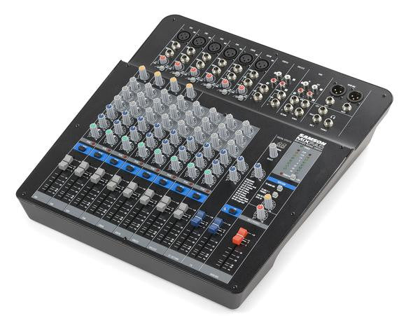 Samson MixPad MXP144FX - 14-Channel Analog Stereo Mixer with Effects and USB