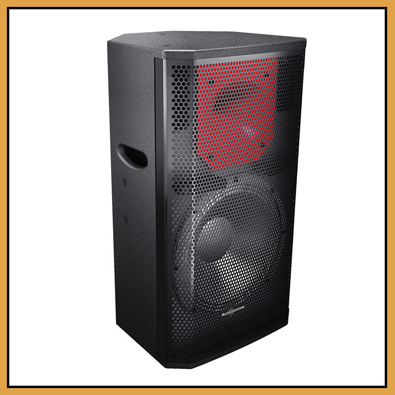 "Audiocenter PL312 12"" 2-Way 300W RMS Passive Speakers (Pair)"