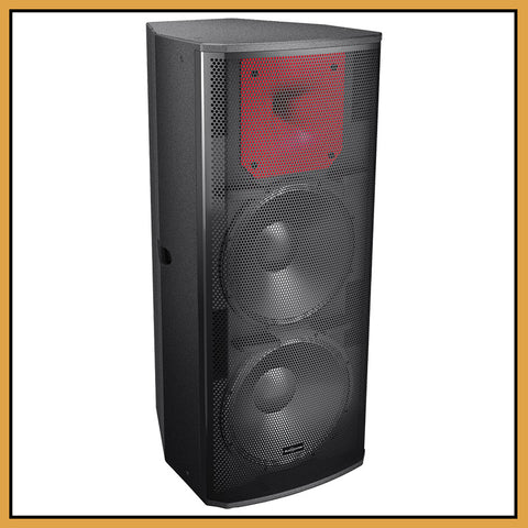 "Audiocenter PL3152  2-Way Dual 15"" 800W RMS Passive Speakers (Pair)"