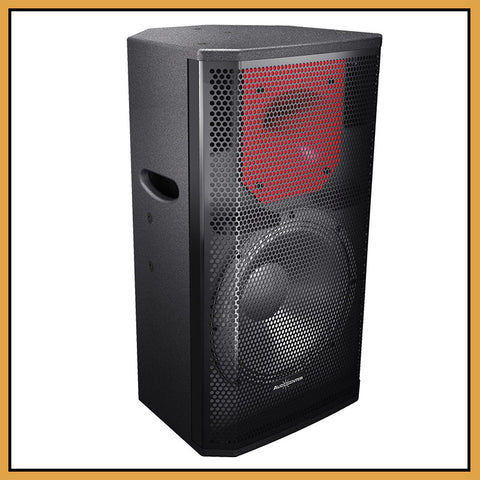 "Audiocenter PL315 15"" 2-Way 400W RMS Passive Speakers (Pair)"