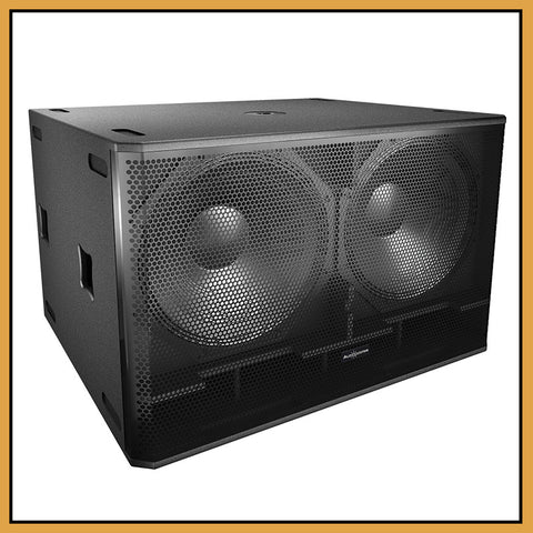 "Audiocenter PL3218 Dual 18"" 1600W Passive Sub Bass (Single)"