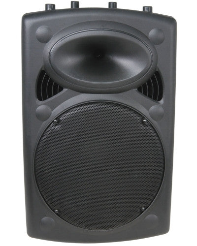 "QTX QR15 PASSIVE SPEAKERS 15in 15"" ABS 500W MAX (Pair)"