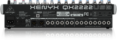 Behringer XENYX QX2222USB 22-Input USB Audio Mixer with Effects