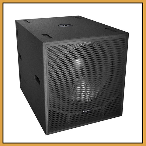 "Audiocenter SW118 18"" 1000W RMS Passive Sub (Single)"