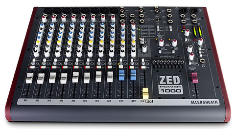 Allen & Heath ZED POWER P1000 2X500W Powered Mixer