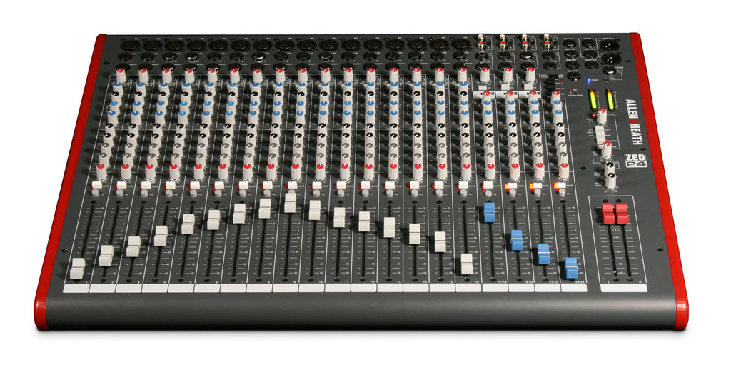 Allen & Heath ZED-24  Multipurpose Mixer for  Live Sound and Recording
