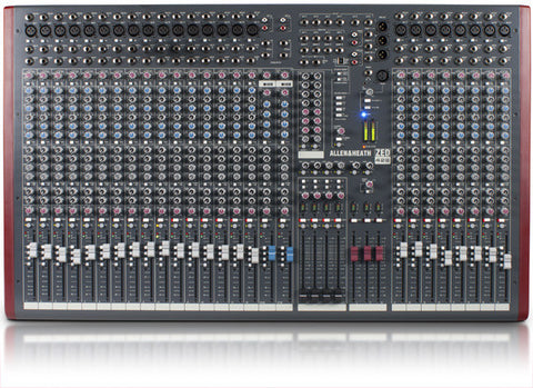 ALLEN & HEATH ZED-2842 4 BUS MIXER FOR LIVE SOUND AND RECORDING