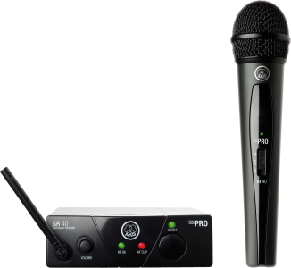 AKG WMS40 MINI SINGLE VOCAL SET WIRELESS MICROPHONE SYSTEM