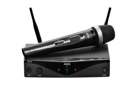 AKG WMS420 VOCAL SET PROFESSIONAL WIRELESS MICROPHONE SYSTEM