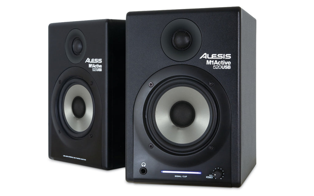 Alesis M1ACTIVE 520 USB Nearfield Studio Monitors with USB Audio I/O