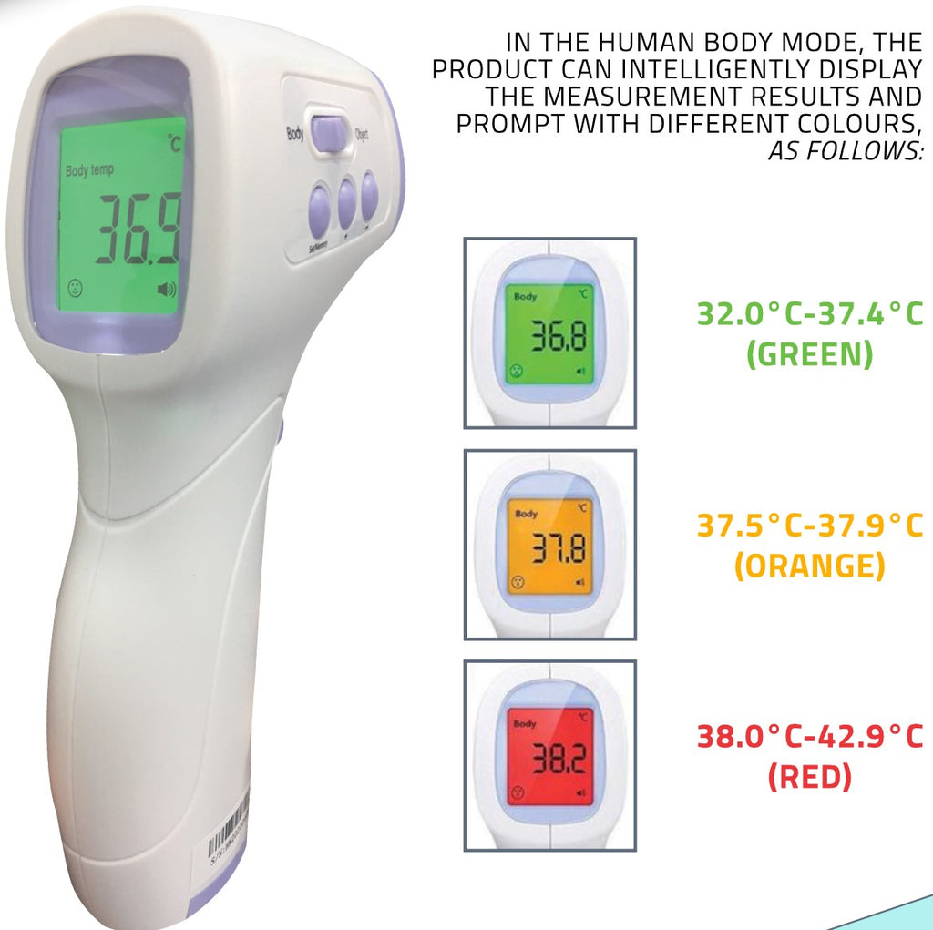 Hawkmed Infrared Head Thermometer