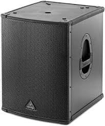 "Behringer EUROLIVE B1500HP Active 2200-Watt PA Subwoofer with 15"" Tubosound Speaker (Single)"