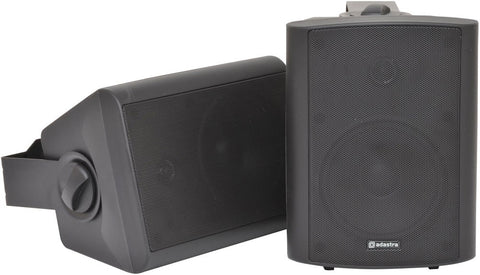 ADASTRA BC5A-B AMPLIFIED STEREO SPEAKER SET - BLACK