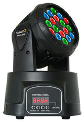 beamZ MHL-108 12-Channel Moving Head Wash 18x 3W RGB DMX