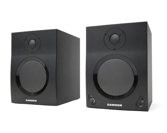 Samson MediaOne BT5 Active Monitors with Bluetooth