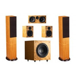 Castle Compact Columns 5.1 Home Theatre Set