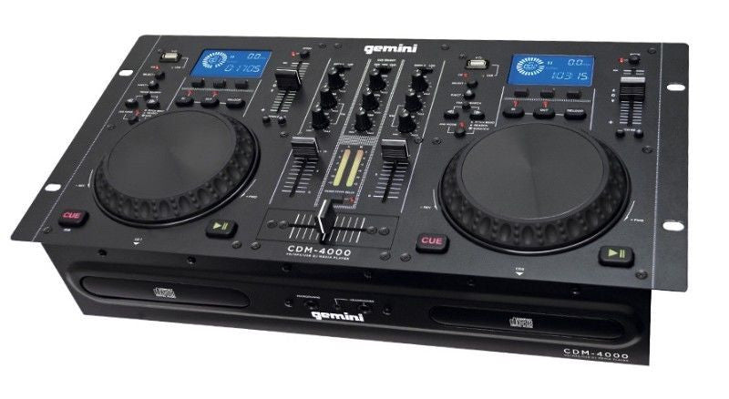 Gemini CDM-4000 CD/MP3/USB DJ Media Player