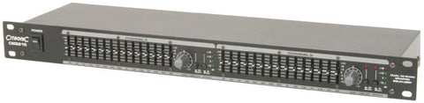 Citronic CEQ215  2 x 15-band graphic EQ