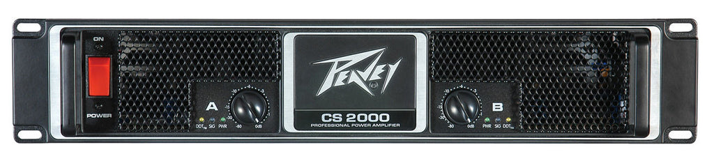 Peavey CS 2000 2150 watt at 2 ohms power amplifier