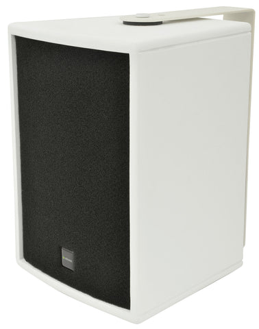 Citronic CS-610W Speaker cabinets 6in White (Pair)