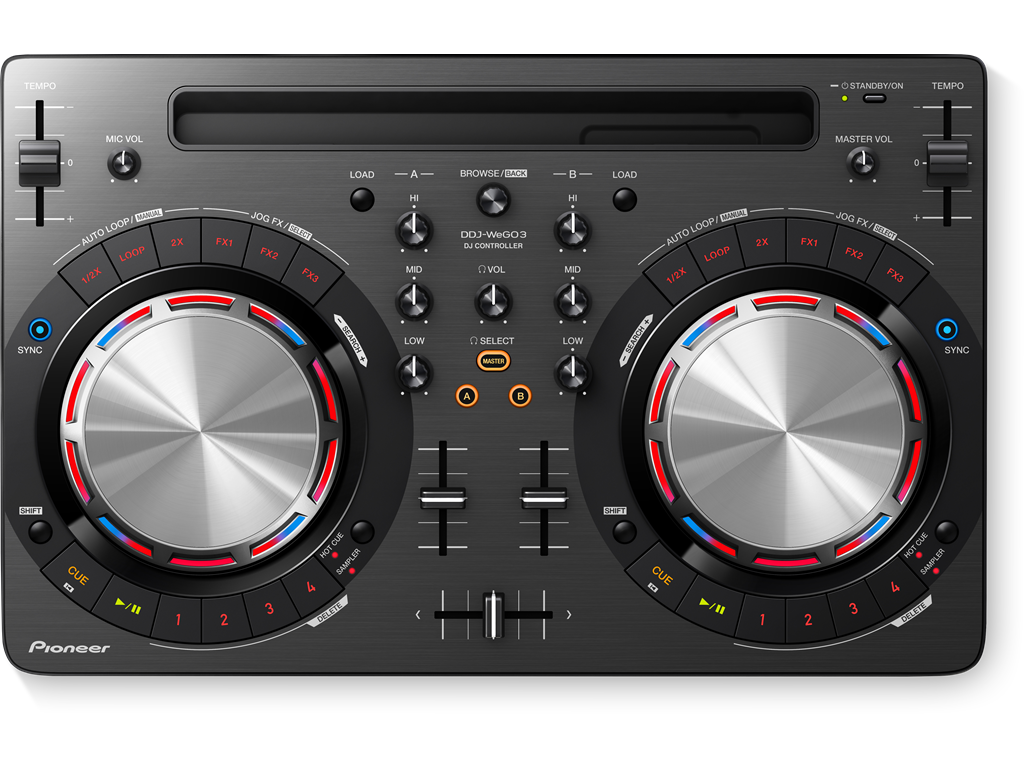 Pioneer DDJ Wego3 Compact entry-level Dj Software Controller