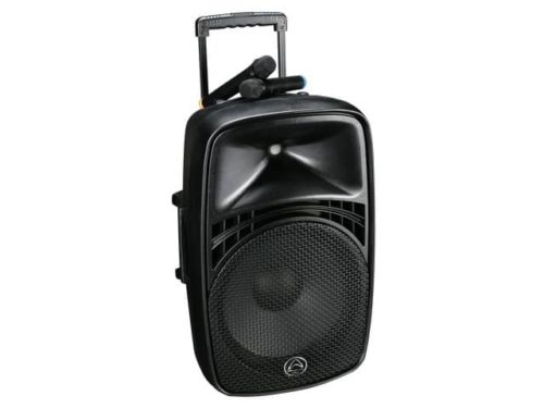 Wharfedale EZ15A Portable Bluetooth PA with 2 Wireless Microphones