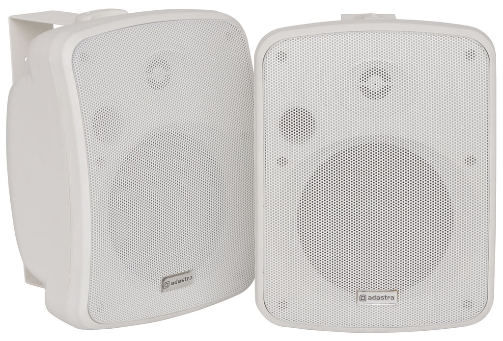 Adastra FC5-W Compact Backround Weatherproof Speaker Pair 5.25in White 50W RMS