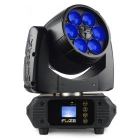beamZ Fuze610Z Wash 6x 10W LED Moving Head Zoom