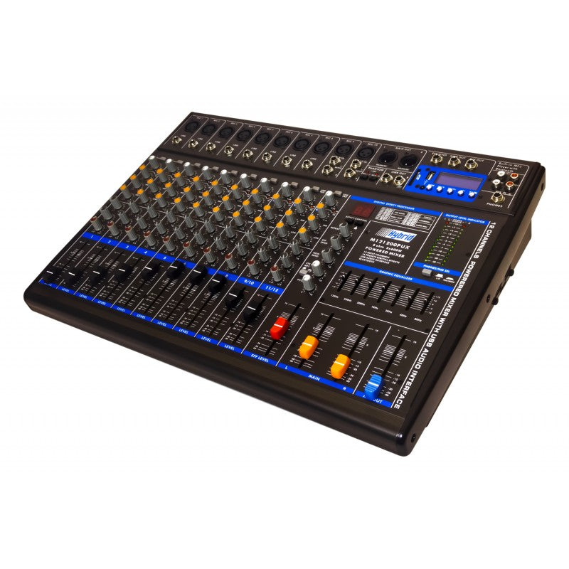 Hybrid M121200 PUX 1200W Powered Mixer