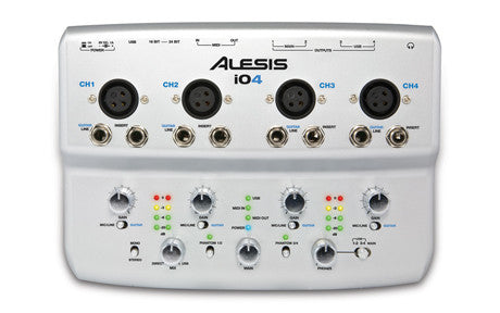 Alesis iO4 4-Channel, 24-Bit Recording Interface
