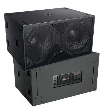 "Audiocenter  K-LA218-DSP, Active DSP-controlled Dual 18"" subwoofer (Single)"