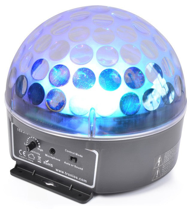 beamZ Magic Jelly DJ Ball Music Controlled LED
