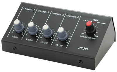 MM4 Microphone Mixer 4-Channel