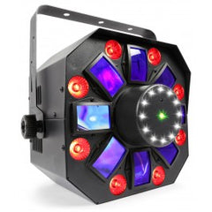 BeamZ MultiAcis IV LED with laser and strobe