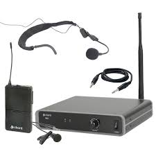 Chord NU1-N NU1 Neckband & Lapel UHF Mic System 863.1MHZ