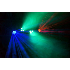 beamZ Partybar Kit 2X PAR 3x 3W RGBW, 2 Jellymoon DMX