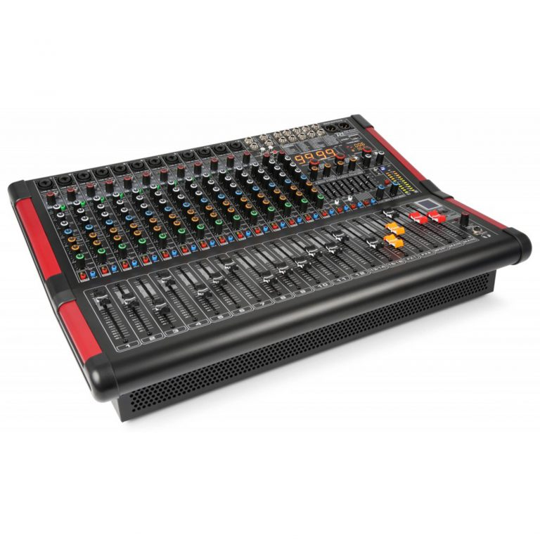 PDM-S1604A Powered Stage Mixer With DSP/BT/USB/MP3 16-Channel
