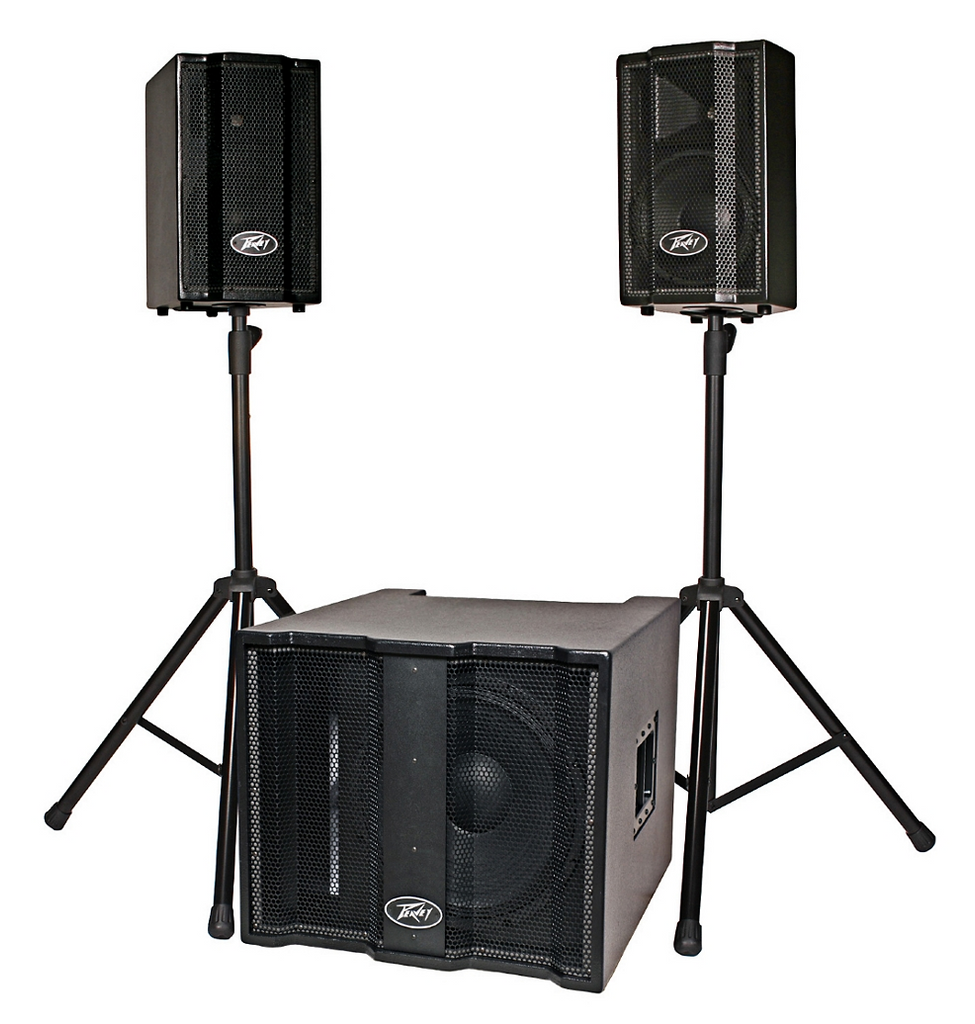 Peavey Triflex II 1000W Three-Piece, Active Two-Channel  Sound System