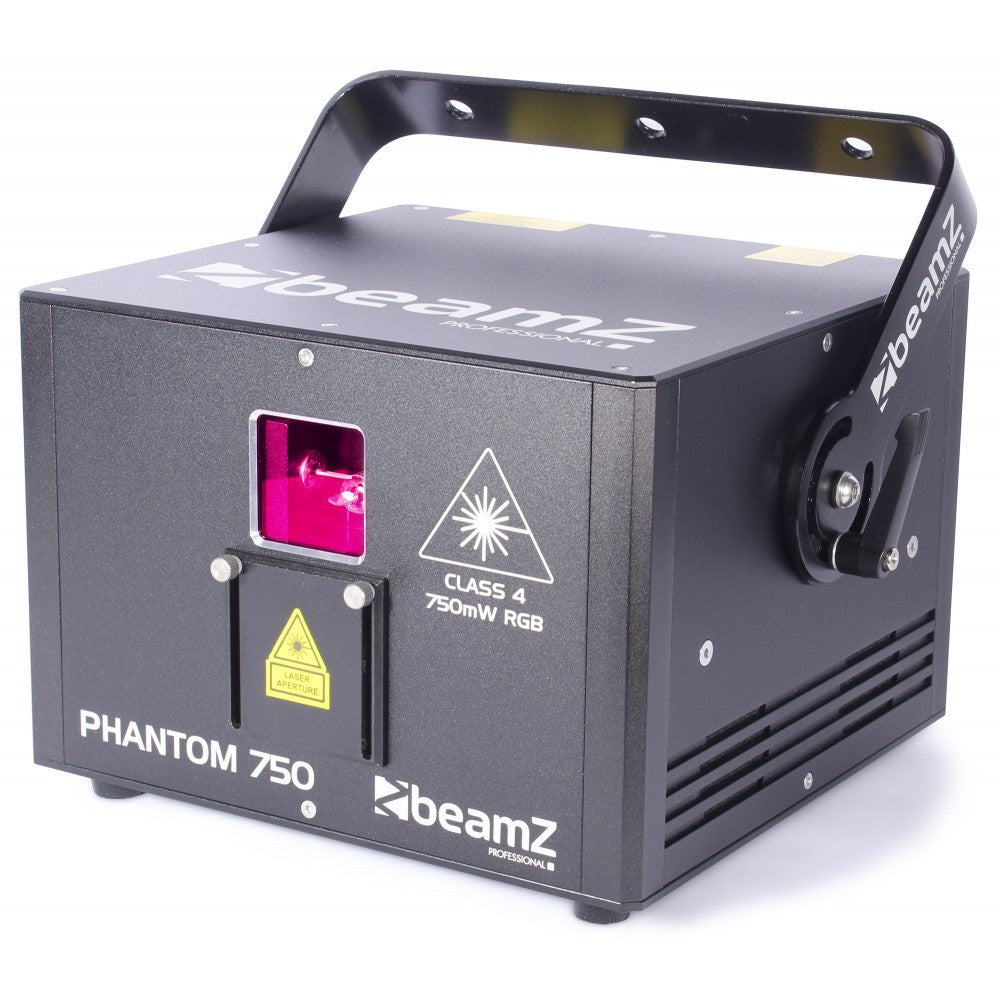 beamZ PHANTOM750 Pure diode laser RGB Analogue 30kpps