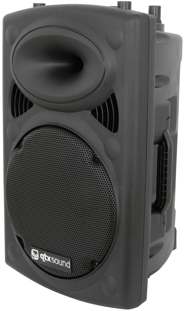 QTX QR12A ACTIVE ABS SPEAKER 12in 200W Speakers (Pair)