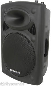 "QTX QRK 15"" Active Moulded PA Speakers 400W Max (Single)"