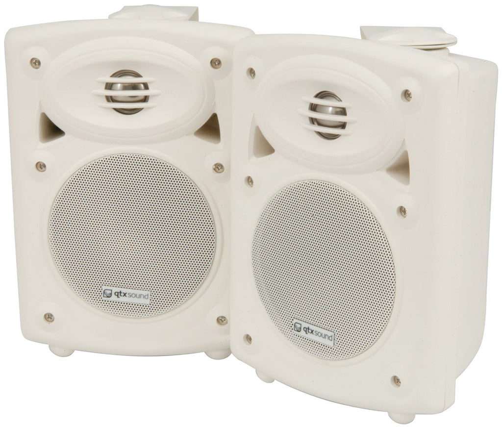 Qtx QR5W Active ABS Speakers 5in, White