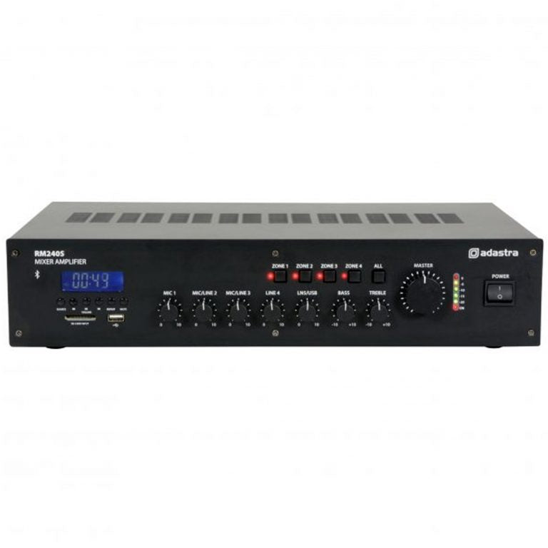 Adastra RM240SB 5 Channel 100V Mixer Amp With Bluetooth