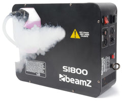 beamZ S1800 SMOKE MACHINE DMX HORIZONTAL/VERTICAL