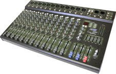 Hybrid SC12220P 12 Channel 400watt Powered Mixer