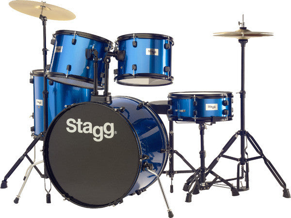 Stagg TIM122B BK 5 piece drum set