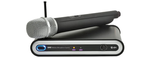 QTX	UH5	UHF Handheld Wireless Microphone System