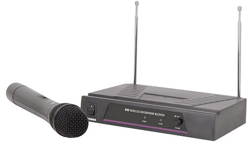 Qtx VH1 VHF handheld mic wireless system