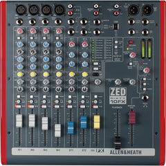 Allen & Heath ZED60-10FX MULTIPURPOSE MIXER WITH FX FOR LIVE SOUND AND RECORDING