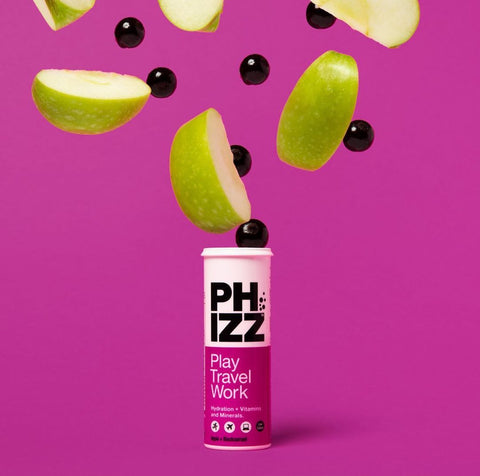 Phizz Apple and Blackcurrant Hydration Tablets Healthy